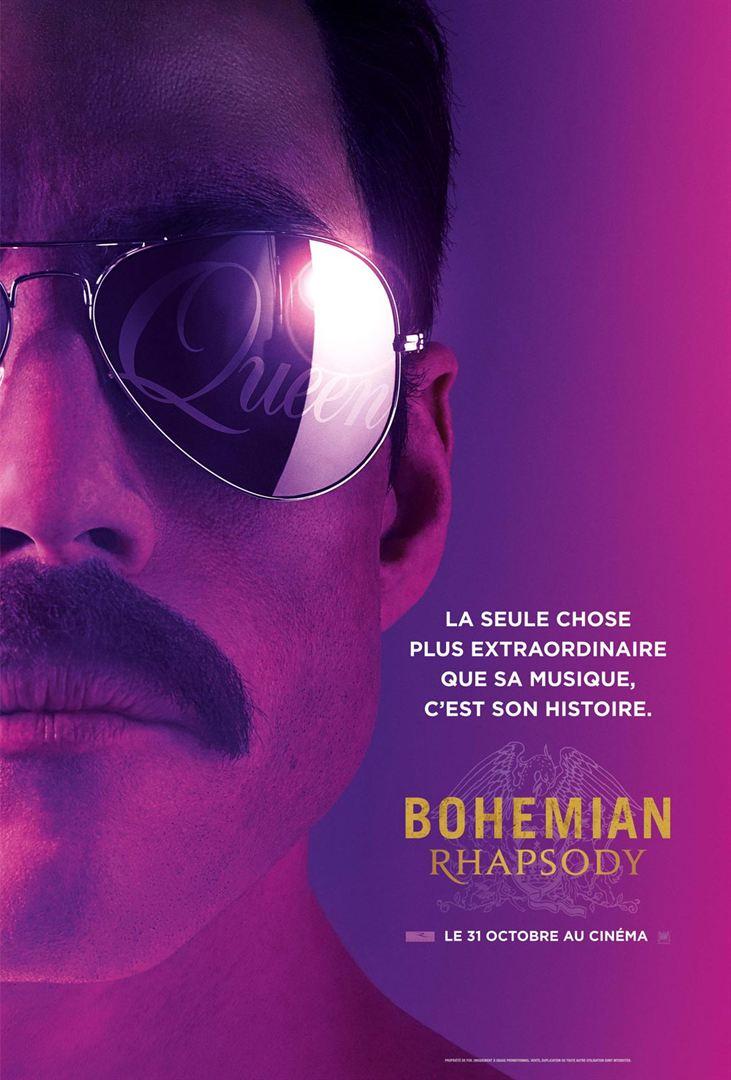 Bohemian Rhapsody affiche du film
