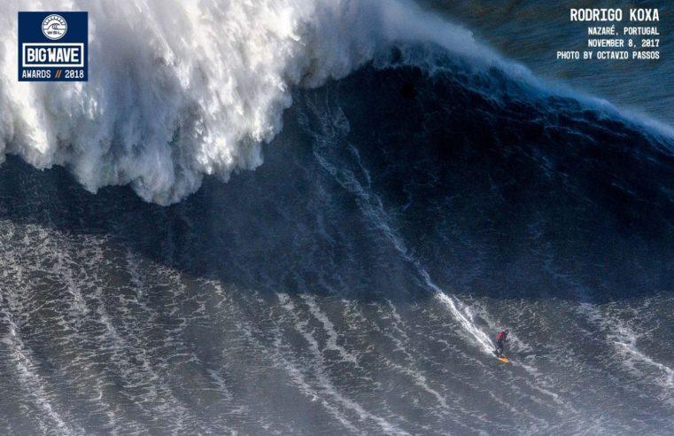 Rodrigo Koxa et la plus grosse vague surfée au monde