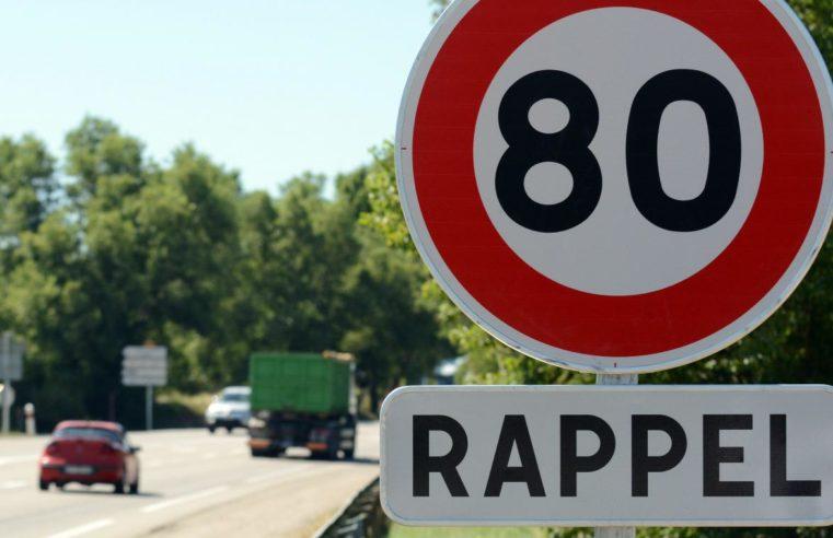 Vitesse limitée à 80km/h : ce qu'il faut savoir