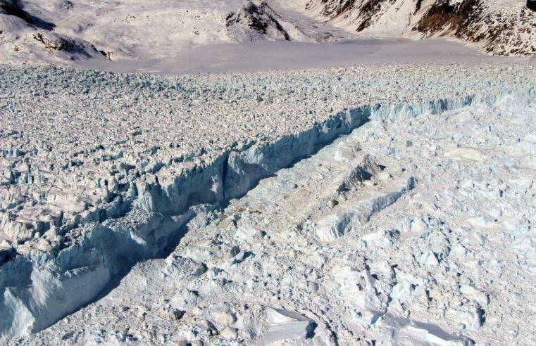 glacier de l'Helheim