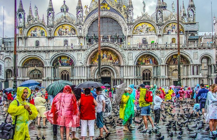 Place San Marco - Venise - Touriste