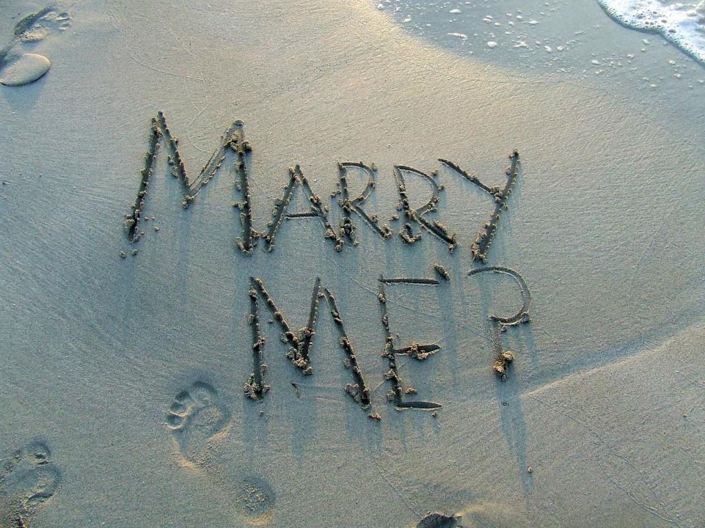 Demande en mariage : les 3 demandes les plus insolites
