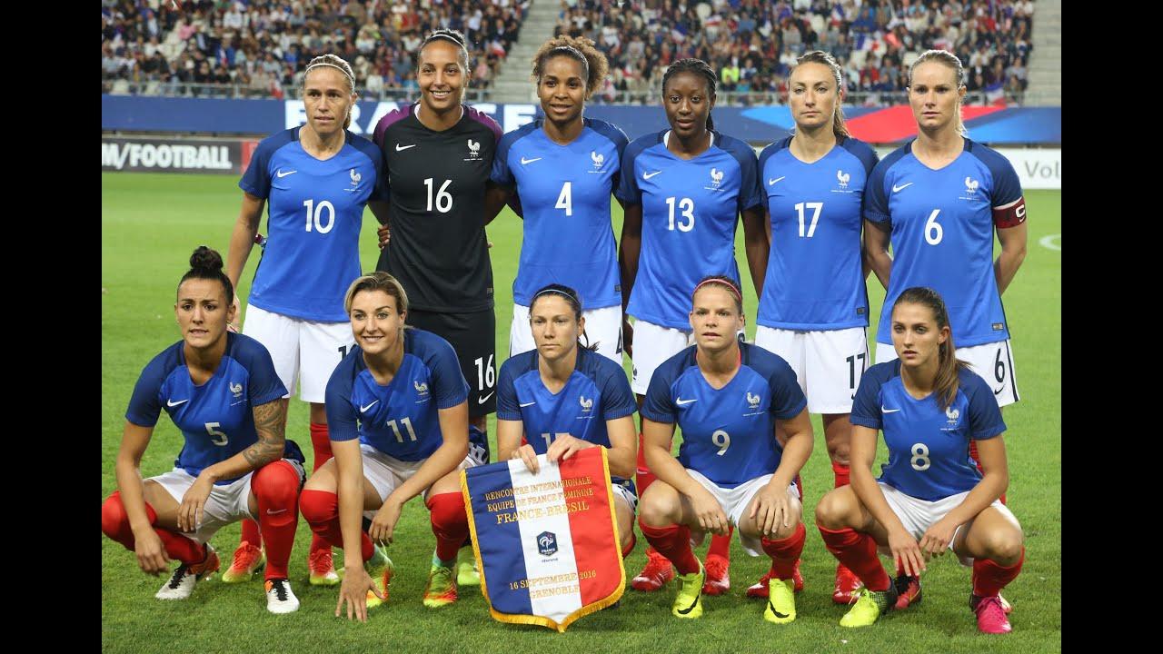 L 39 equipe de france de football f minin qui joue la coupe - Coupe du monde de football feminin ...
