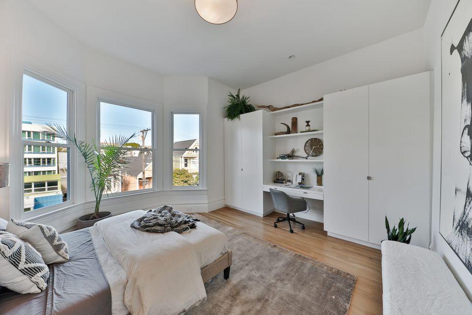 La maison bleue de Maxime le Forestier à vendre à San Francisco