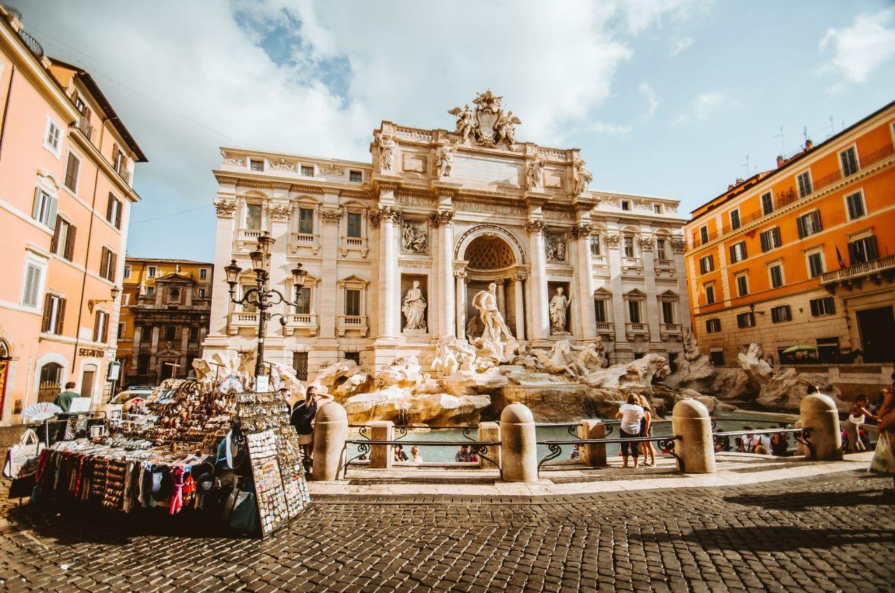 Rome Fontaine de Trevisse