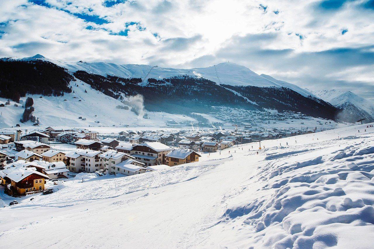 Station de ski et village