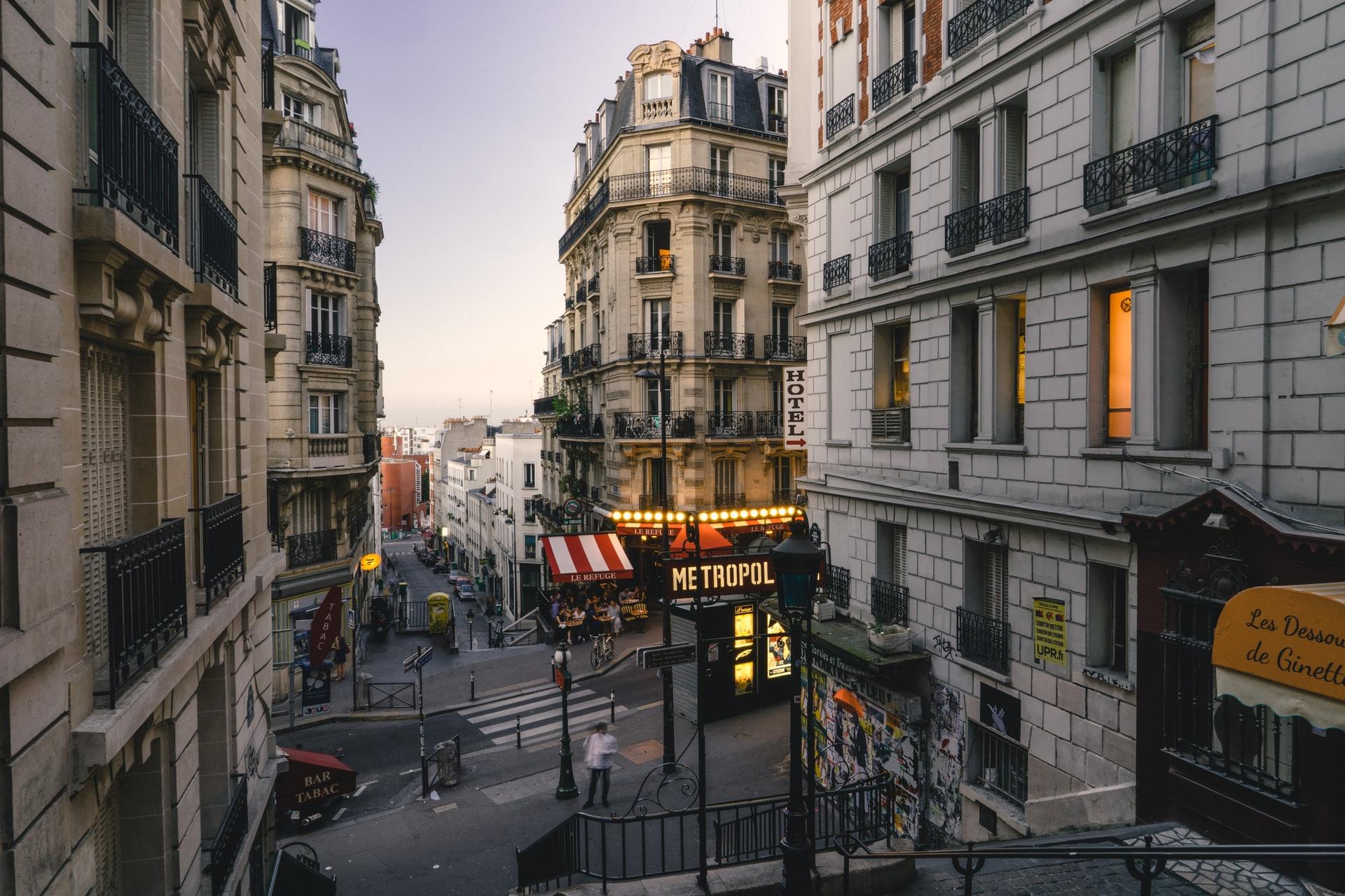 Le prix de l'immobilier en baisse à Paris