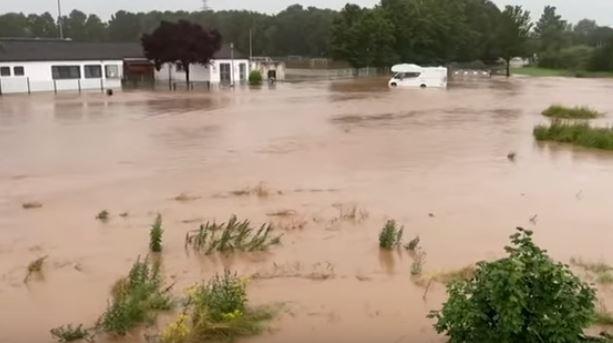Inondations en France, en Belgique et en Allemagne, au moins 90 morts et de nombreux disparus